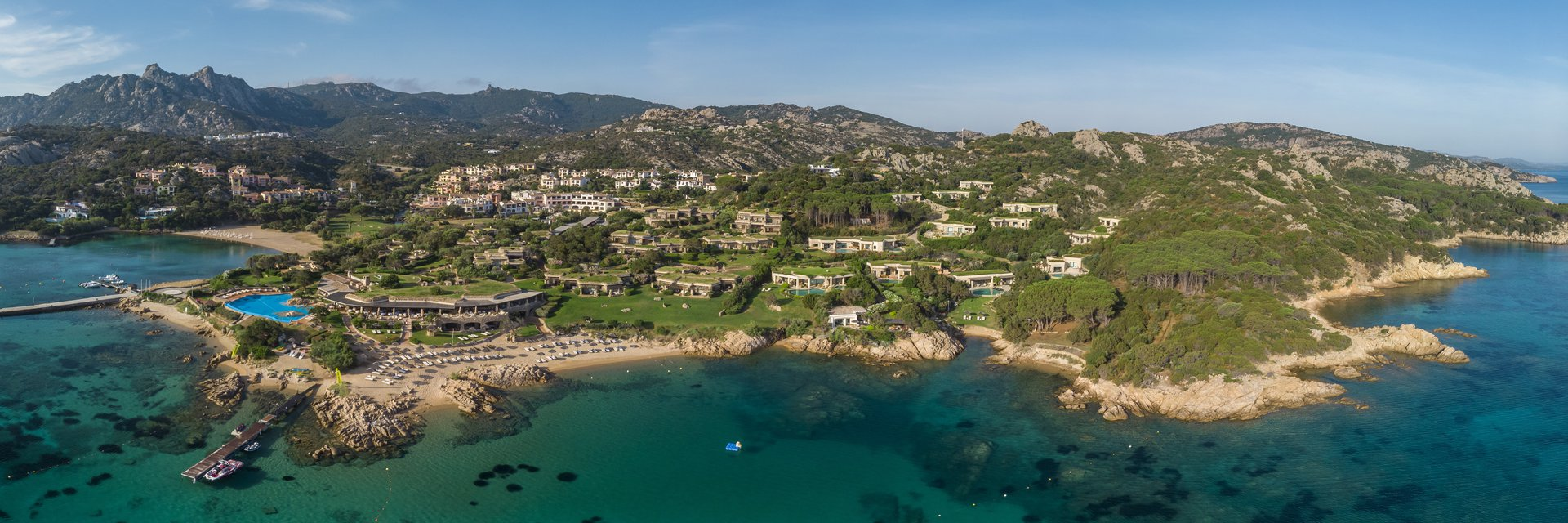 Hotel Pitrizza Aerial view
